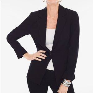NWT Chico's black blazer
